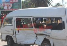 Kombi Accident