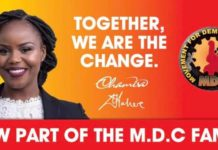 Fadzayi Mahere officially joins MDC