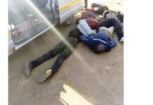 Armed robbers shot dead