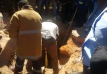 Man fell in well