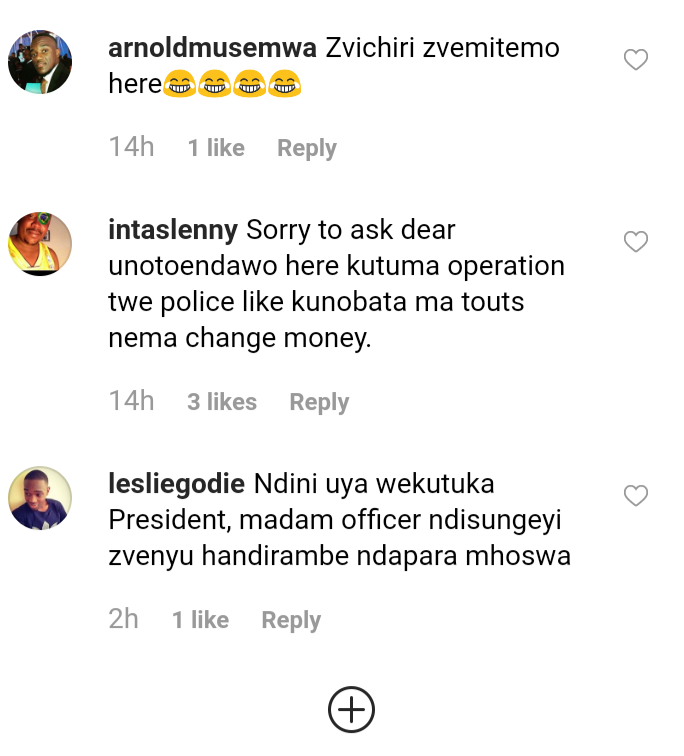 Police comments