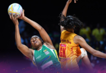 Zim Gems' Joice Takaidza Finishes In Top 10 Of Netball World Cup Scorers