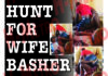Police hunt for wife basher