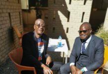Justice Minister Ziyambi Makes First Appearance Following Major Health Scare