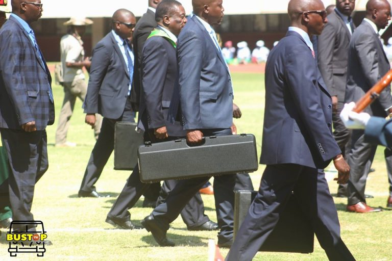 President Mnangagwa-Security