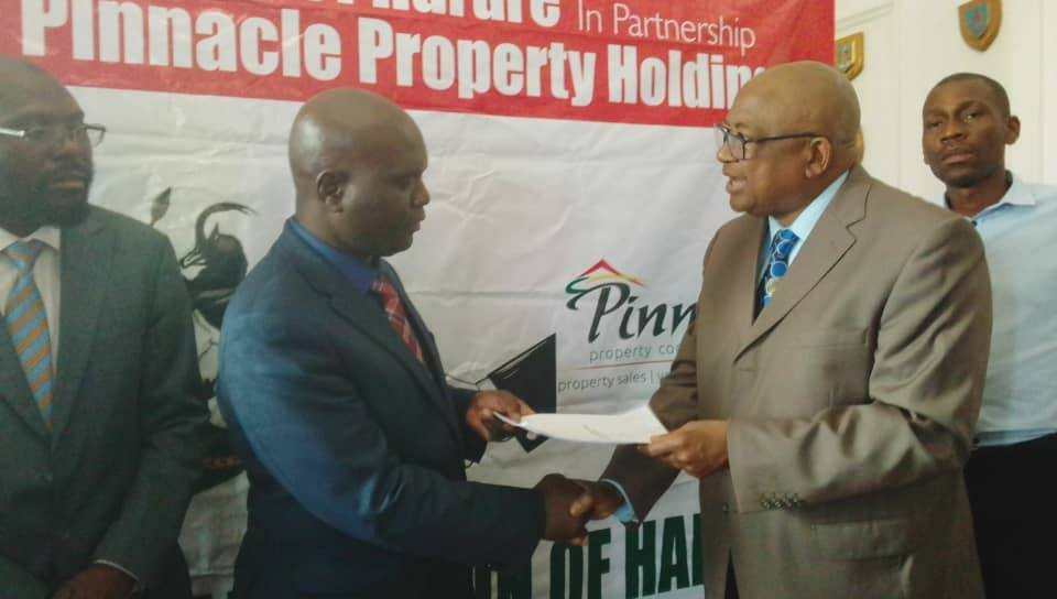 HARARE IN LAND DEAL WITH CHIYANGWA