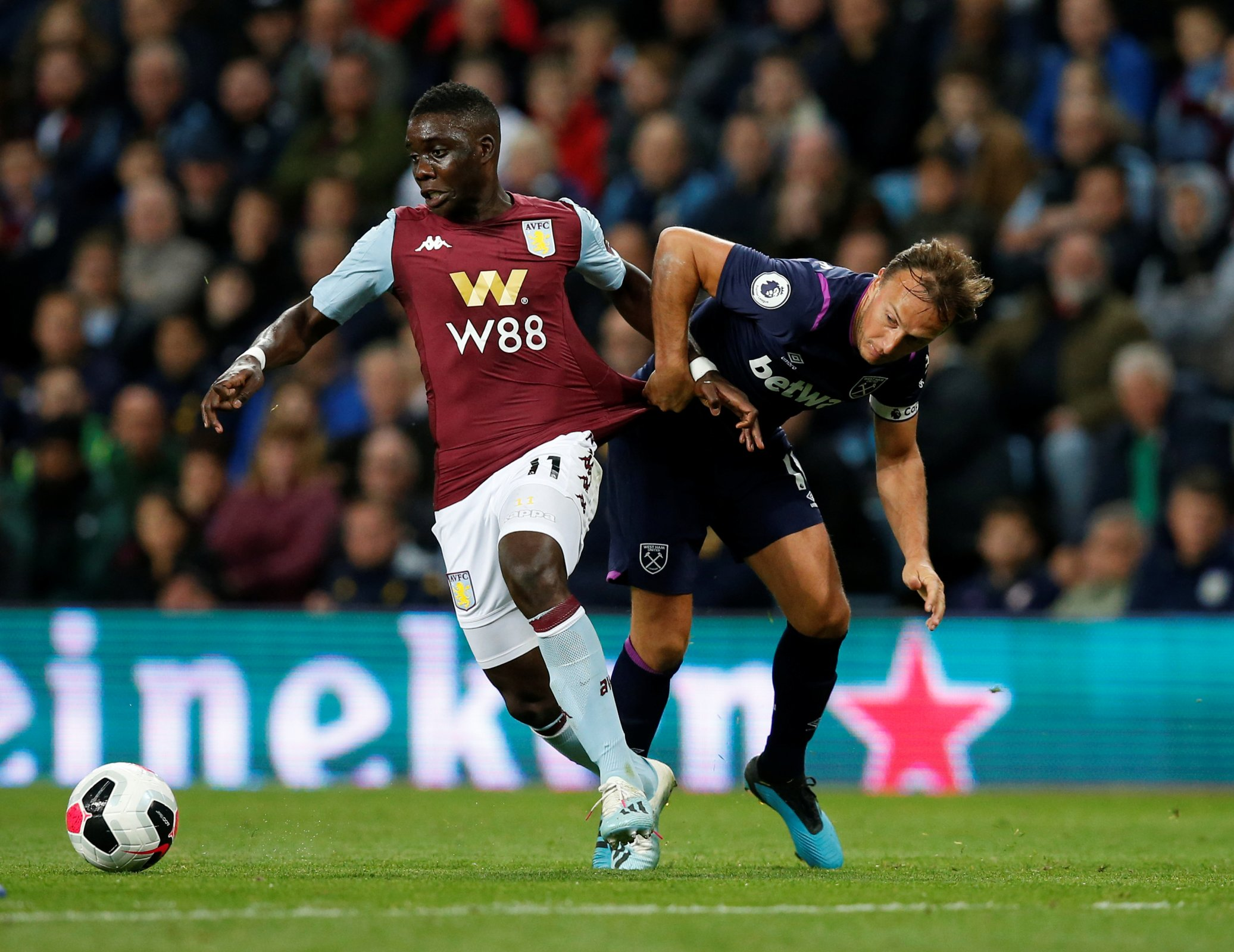 Villa Fans Blast Nakamba For Dreadful Display Against Leicester City