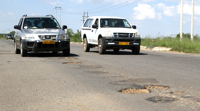 Seke road potholes now death trap