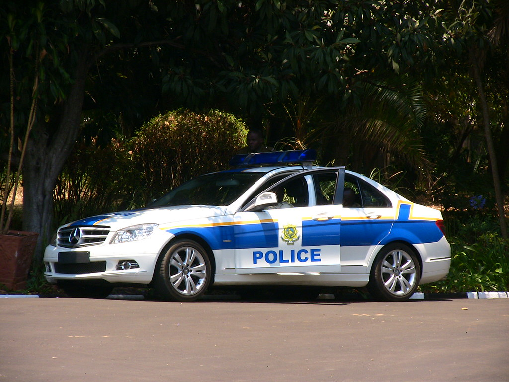 Polluted Fuel Grounds Police Vehicles