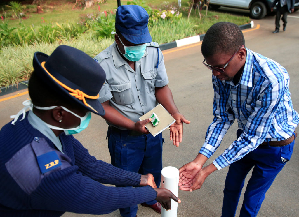 Police officers ordered to test for Covid-19