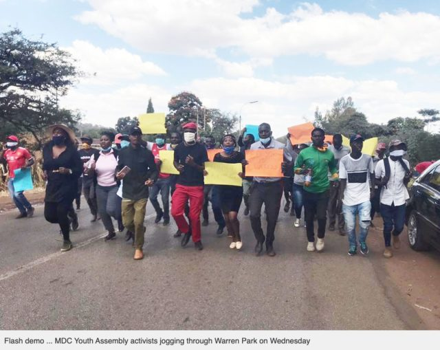 MDC Alliance says MP, 2 other youth activists 'missing' after protest