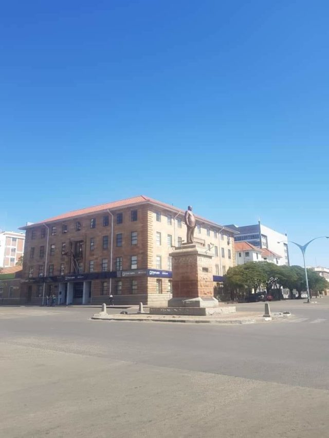 Police speak on why they chased away people in Bulawayo City