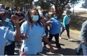 Nurses Being Taken To Court For Asking For A Living Wage - Video