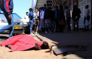 Covid-19 Scare in Bulawayo as man collapses and dies in the CBD