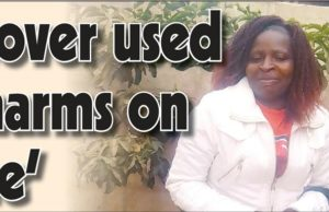 'Lover used charms on me'