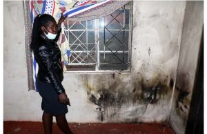 Jilted Lover Douses Wife And Son With Petrol…..Sets Them Ablaze