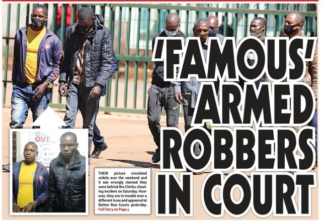 Famous Armed Robbers In Court!