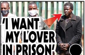 `I WANT MY LOVER IN PRISON'
