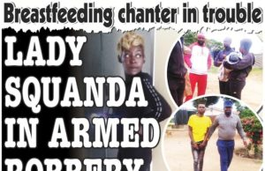 Lady Squanda In Armed Robbery