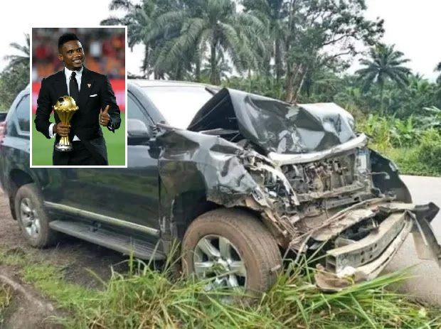 Barcelona legend Eto'o involved in road accident in Cameroon - reports