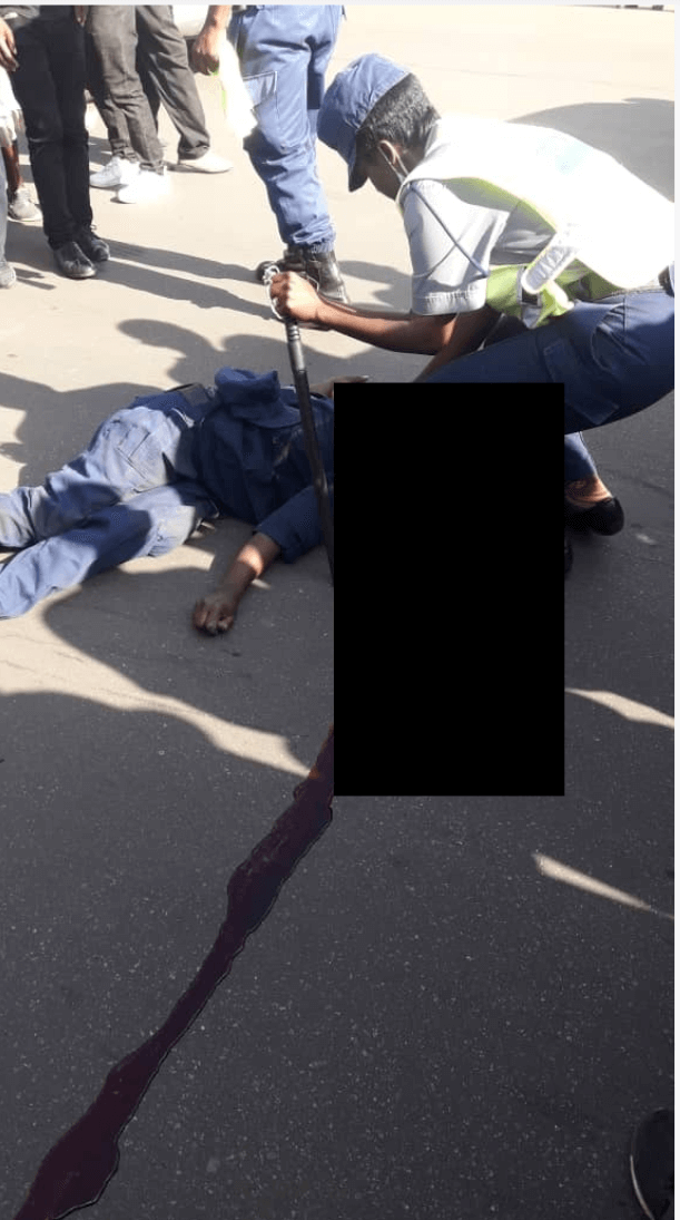 Police Officer Crushed To Death By Mshika Shika Driver