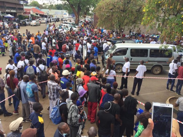 Wild cheers in Harare CBD as Ginimbi's body is paraded in the streets {Watch}