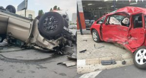 Honda Fit Strikes Again In South Africa - Two injured