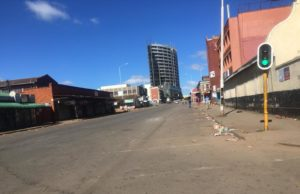 Harare CBD Quiet On The FirstDay Of The Lockdown