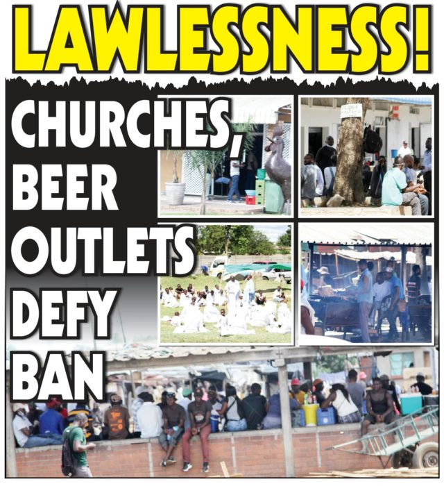 Churches, Beer Outlets Defy Ban