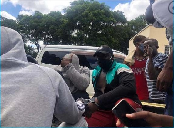 DJ Fantan and Levels appear in court hand-cuffed