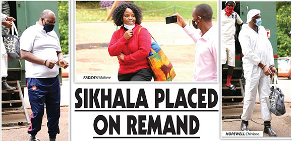 SIKHALA PLACED ON REMAND. . . Mahere raises serious allegations against police