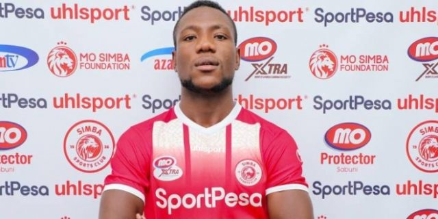 Muduhwa Vows To Fight For Simba SC First Spot
