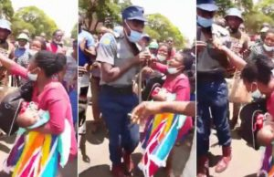 Zim police officer kills baby while beating mother with button stick in Harare