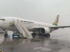 Air Zimbabwe Plane Lands In China To Ferry Covid Vaccines
