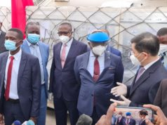 Zimbabwe has received its first batch of coronavirus vaccines with the arrival early Monday of an Air Zimbabwe jet carrying 200 000 Sinopharm doses donated by the People's Republic of China.