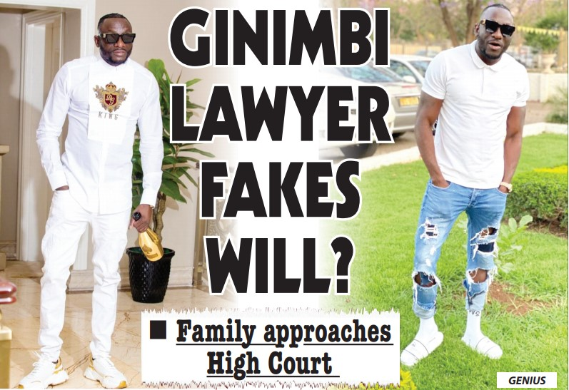 The Fights Begin! Ginimbi's Family Accuse Lawyer Of Doctoring WILL!