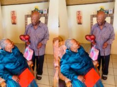 93-year-old grandfather surprises wife with special Valentine gift