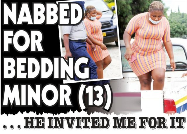Woman Caught Bedding 13 year old, Claims He Invited Her!