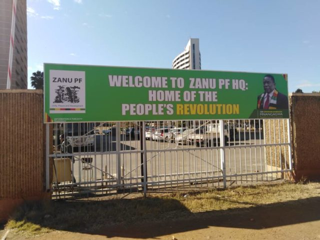 Zanu PF Strategizing To Win Vacant Harare Council Seats In The Upcoming By Elections