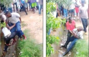 Two nabbed for police assault