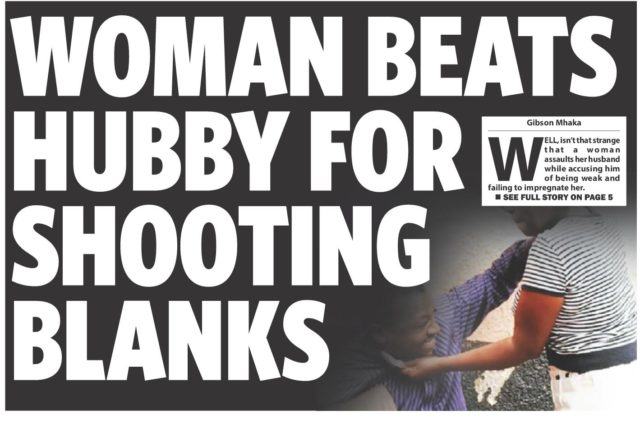 Hubbybeaten for shooting balnks
