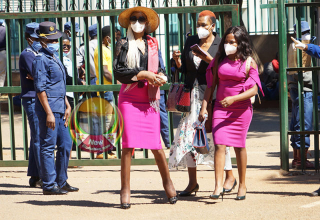 Marry Chiwenga At court in Harare Zimbabwe