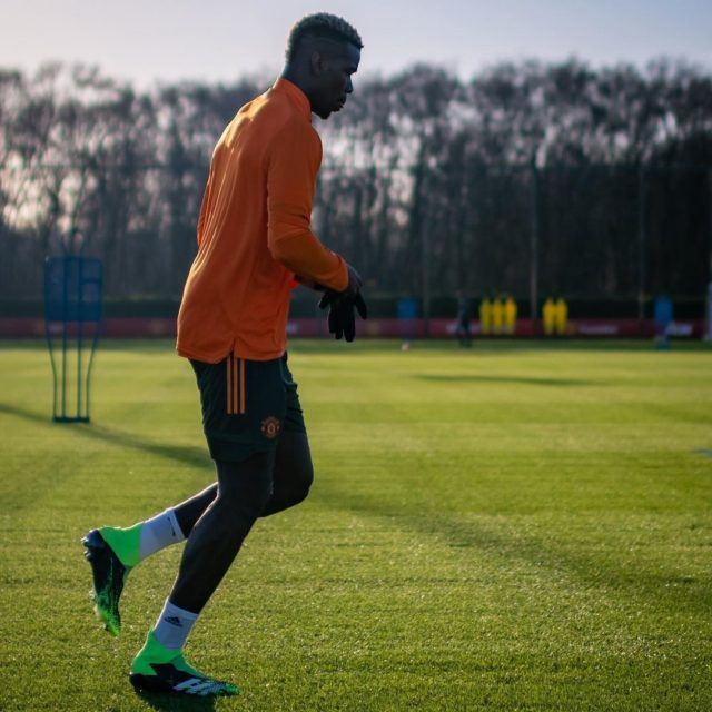 Manchester United star Paul Pogba is back!