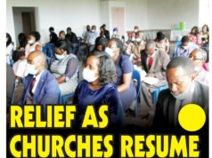 Relief As Churches Resume