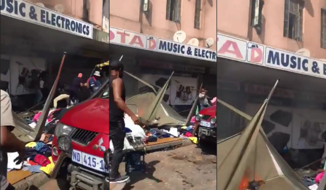 Video   Xenophobic Attacks Erupt In South Africa