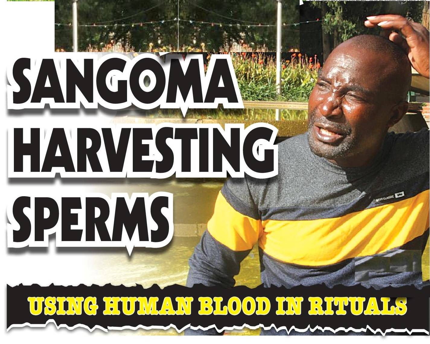 Sangoma Harvesting Sperms...Clients Know When They Will Die!