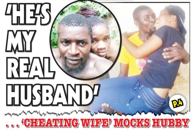 He stopped performing 12 years ago...Cheating Woman expose hubby!