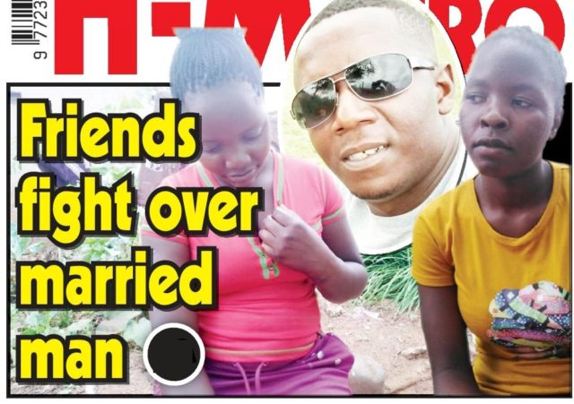 Friends fight over married man...'I want neither of them' - he says!