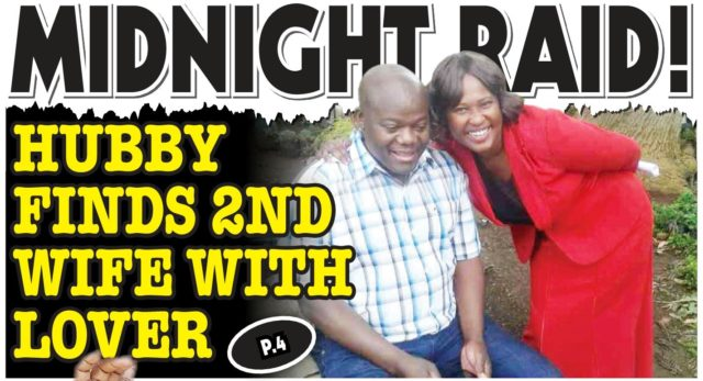 Midnight Raid...Businessman finds wife with lover!