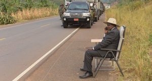 This is Africa: Museveni once stopped his motorcade to make a phone call